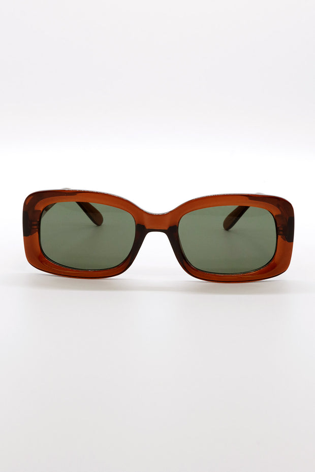 Rectangle Frame Sunglasses