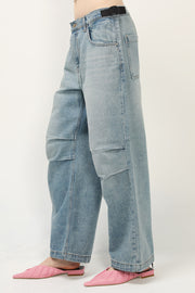 storets.com Hayley Ruched Knee Jeans