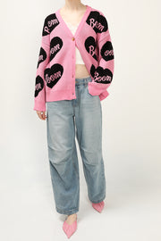 storets.com Cindy Oversized Heart Cardigan