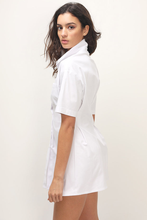 storets.com Samara Pintuck Shirt Dress