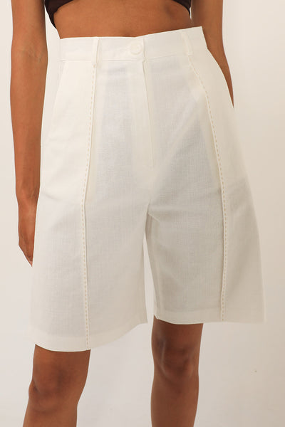Tinsley Contrast Stitch Shorts