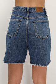 storets.com Vada Slit Denim Shorts
