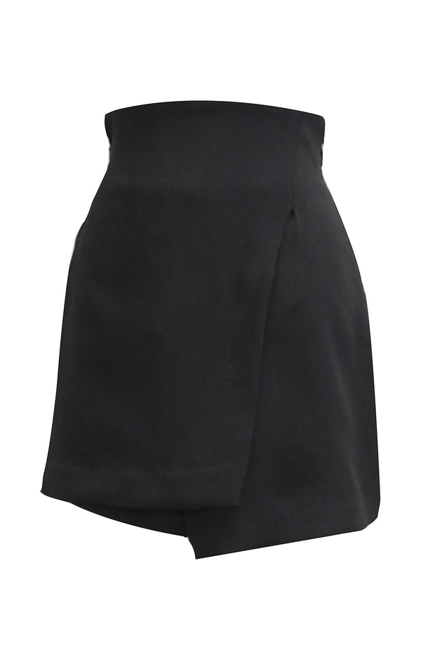 Melody Wrap Effect Skort