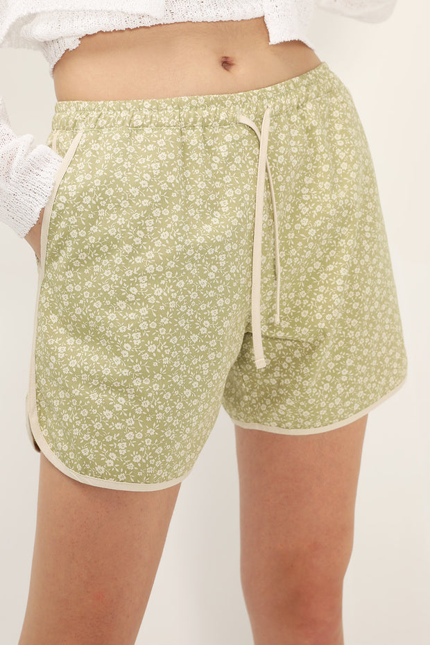 storets.com Sunny Floral Lounge Shorts