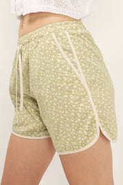 Sunny Floral Lounge Shorts