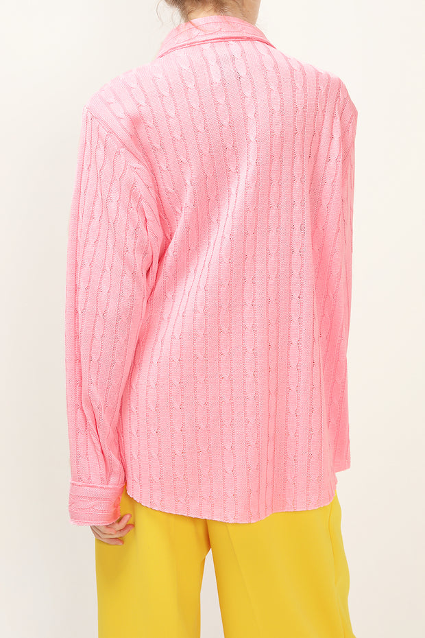 Eva Oversized Knit Shirt
