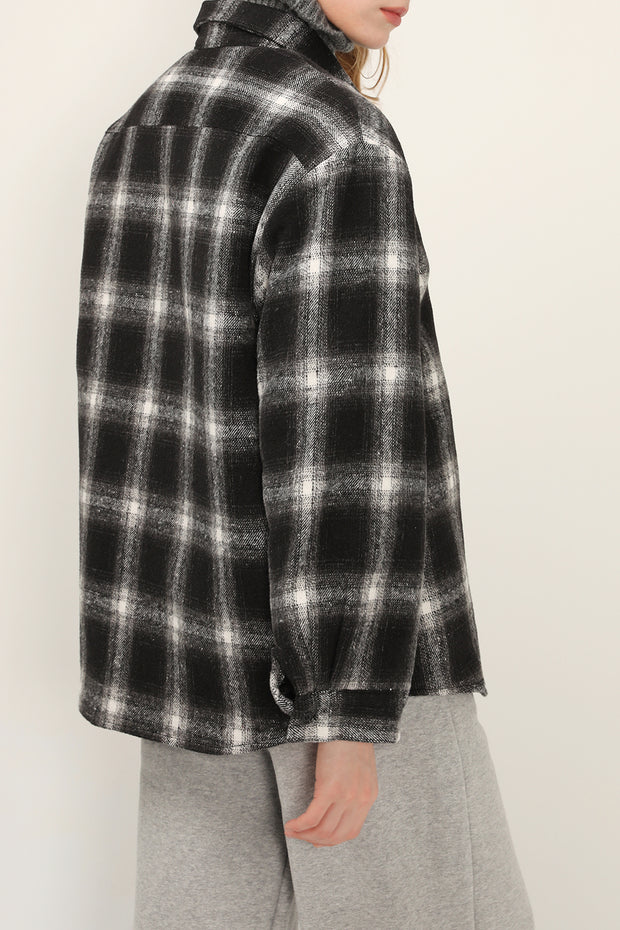 storets.com Cali Oversized Check Shacket