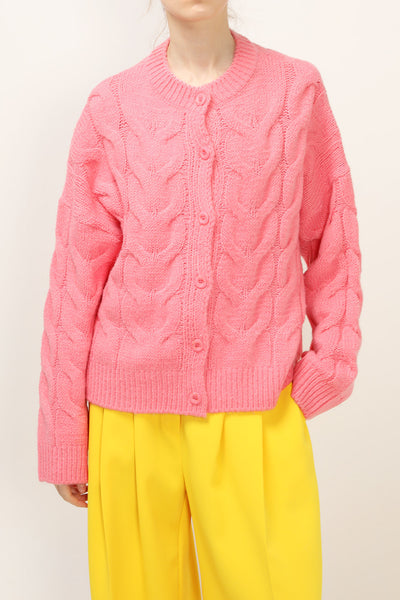 storets.com Esther Cable Knit Cardigan