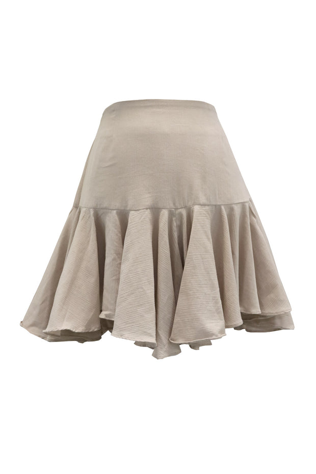 Amy Irregular Ruffle Hem Skirt