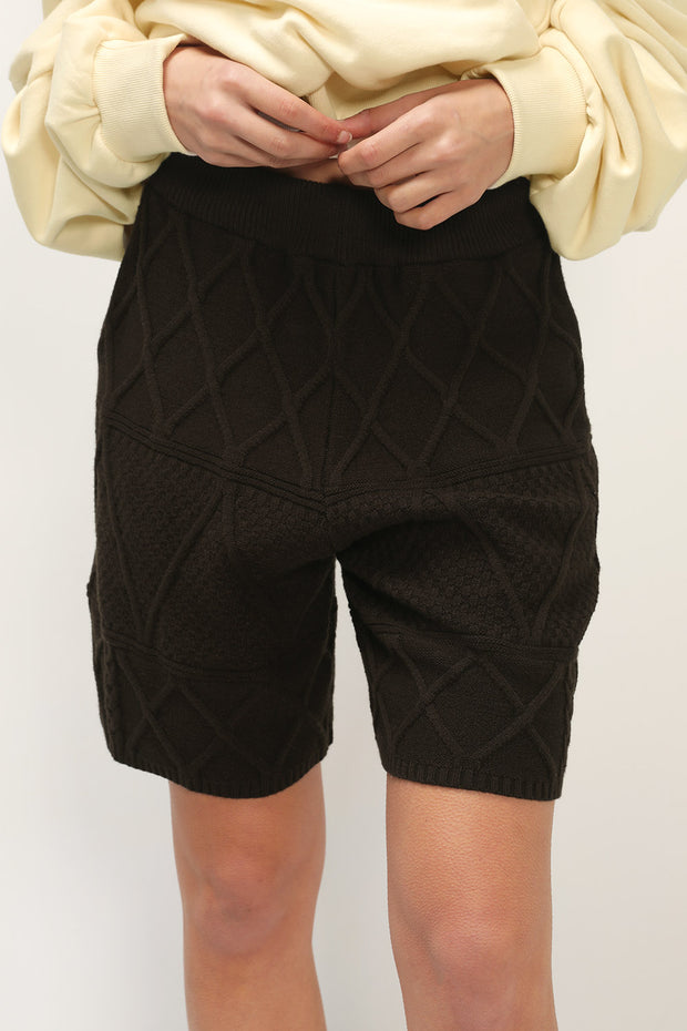 storets.com Miracle Cable Knit Shorts