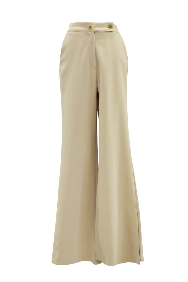 Ariel Slit Side Flare Pants