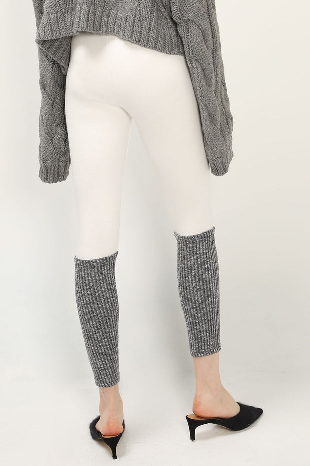 storets.com Bria Ribbed Hem Knit Leggings