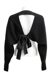 storets.com Sara Balloon Sleeve Cropped Cardigan
