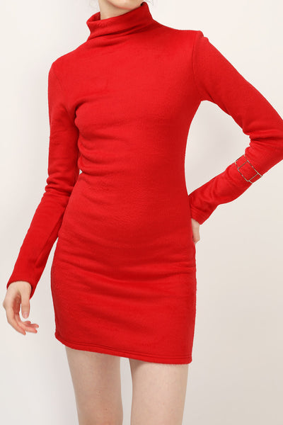 Rachel Brushed Knit Dress
