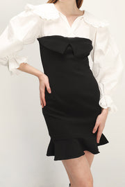 storets.com Callie Color Block Splice Dress