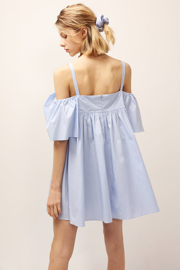 Lucy Off-the-Shoulder Ruffle Dress