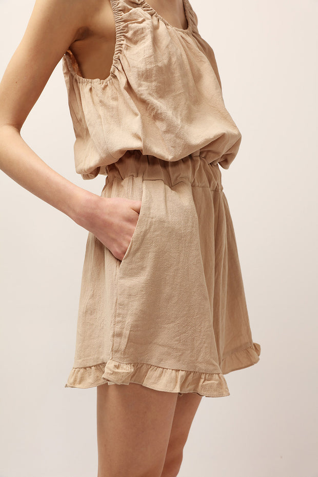 Lydia Cinched Romper