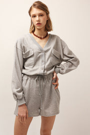 Hailey Sweat Romper