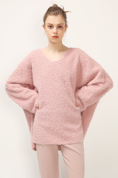 Lilly Fluffy Oversized Top