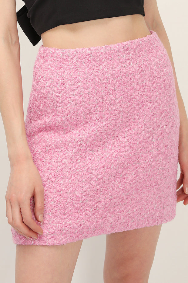 storets.com Trinity Tweed Mini Skirt
