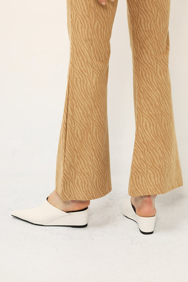 Pointed Toe Platform Mules