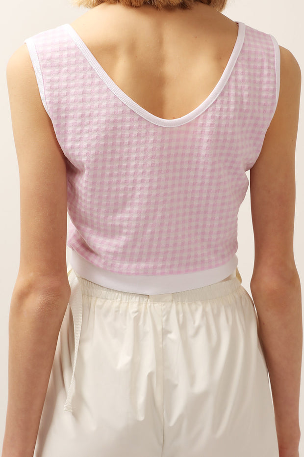 Lucy Gingham Crop Top