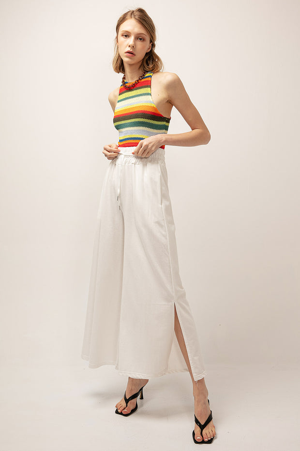 storets.com Scarlett Side Slit Wide Pants