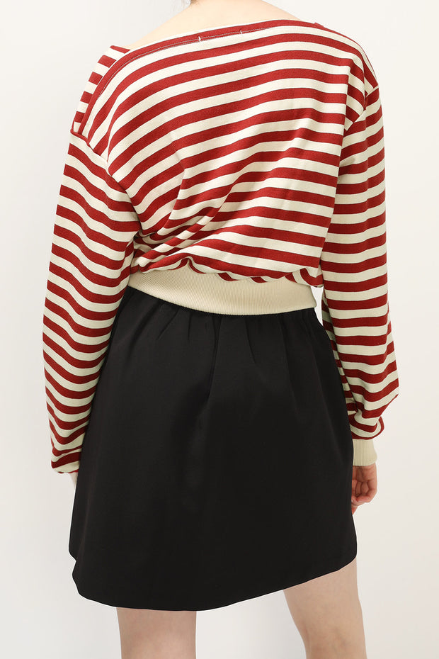 storets.com Emily Striped Sweat Top
