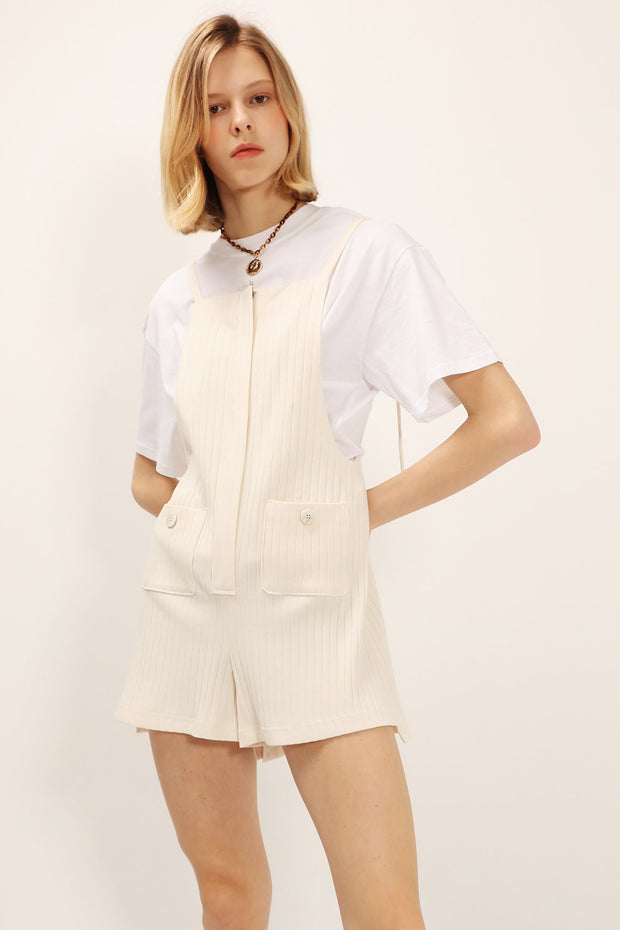 Emma Ribbed Pocket Romper
