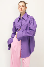 storets.com Scarlet Oversized Button Down Shirt