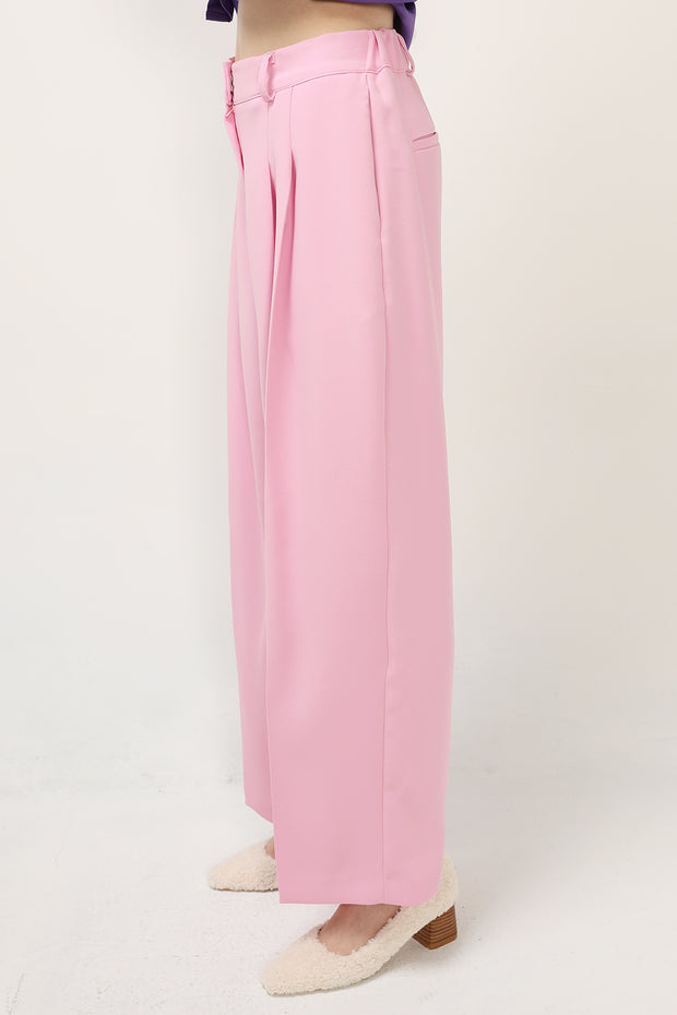 Elora Pintuck Wide Leg Pants