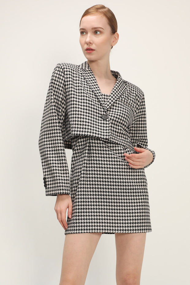 storets.com Juliette Houndstooth 2-Piece Set