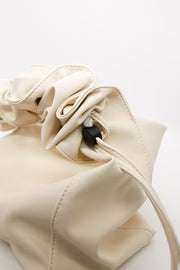 Ruched Handle Tote Bag