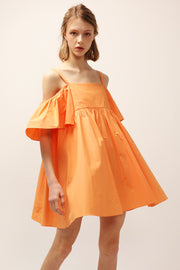 storets.com Lucy Off-the-Shoulder Ruffle Dress