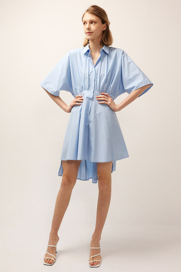 storets.com Joy Cinched Shirt Dress