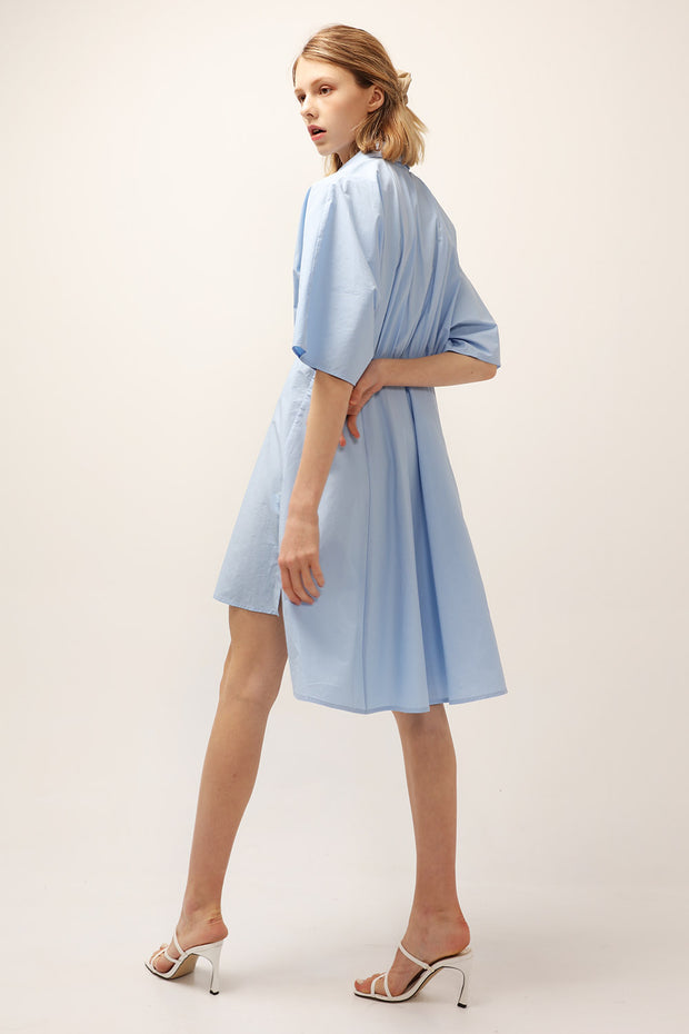 Joy Cinched Shirt Dress