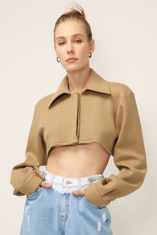 storets.com Isla Super Cropped Shirt