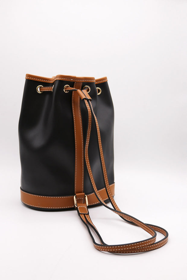 storets.com Pleather Bucket Bag