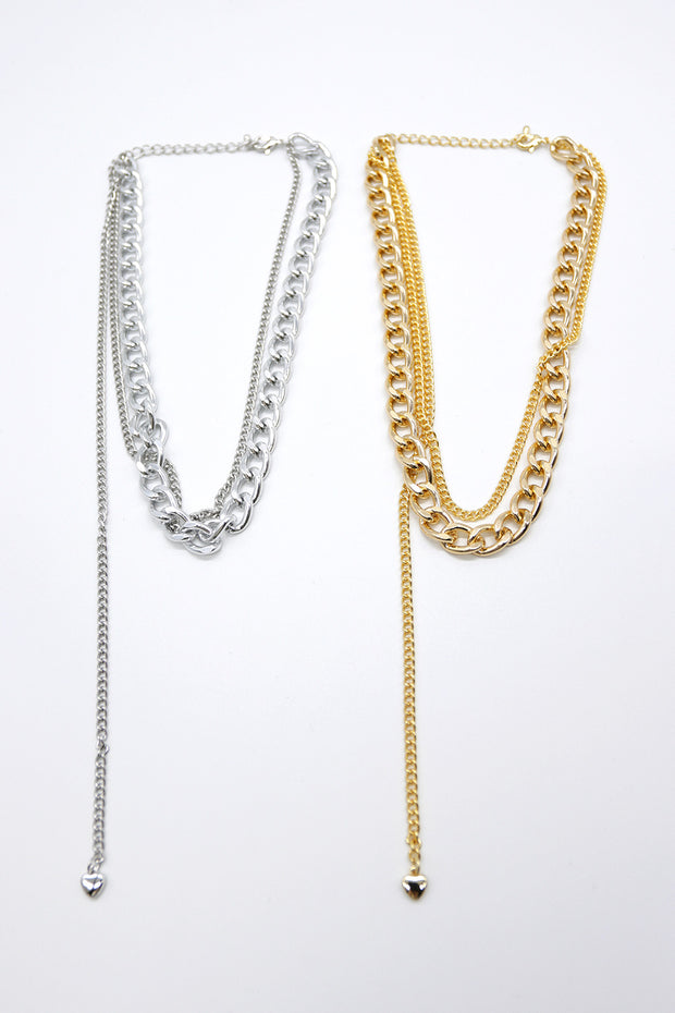 storets.com Dual Chain Necklace