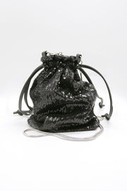 storets.com Glitter Mini Bucket Bag