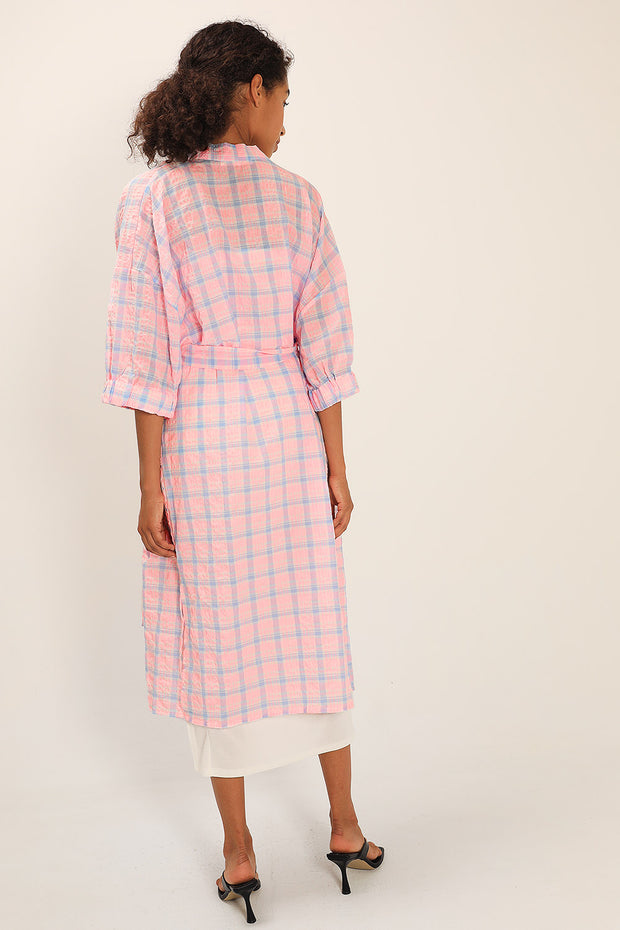 Siena Plaid Check Robe