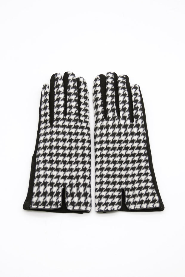 storets.com Houndstooth Gloves