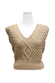 Maya Fisherman Sweater Vest