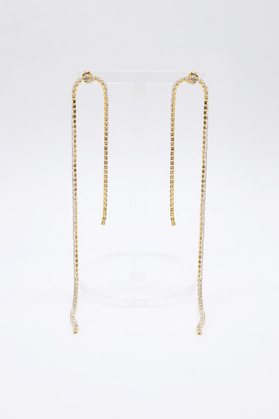 storets.com Chain Drop Long Earrings
