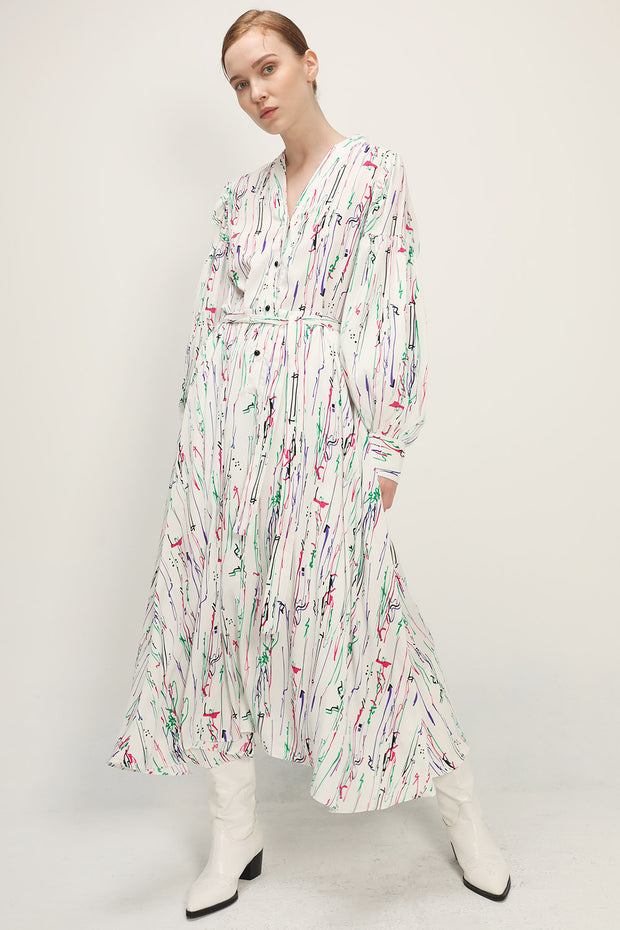 storets.com Jocelyn Printed Maxi Dress