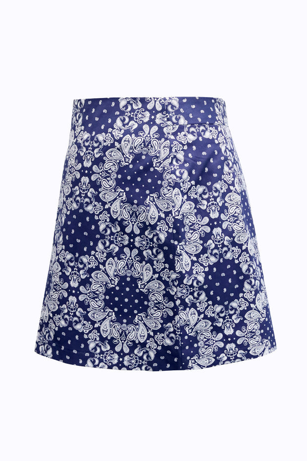 Sarah Paisley Mini Skirt