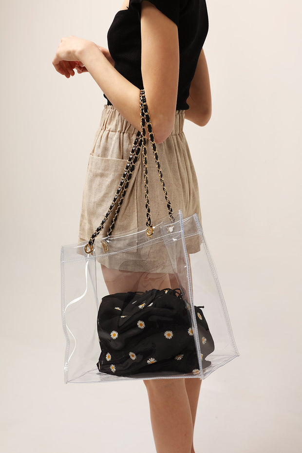 All Day PVC Tote Bag
