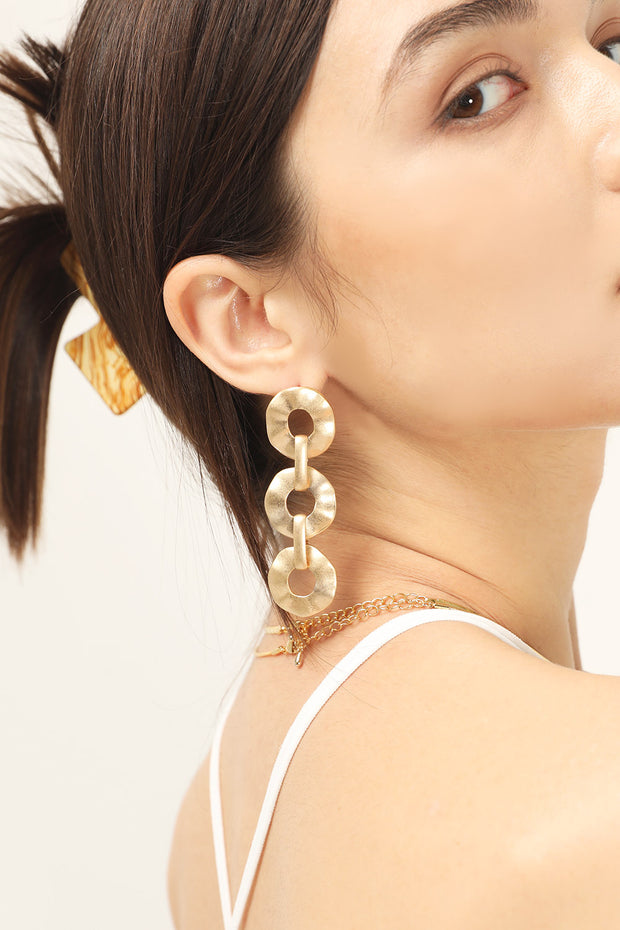 storets.com Linkled Circles Earrings