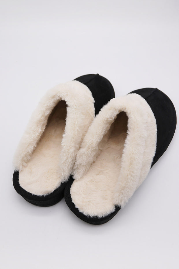 storets.com Fuzzy Closed Toe Mules