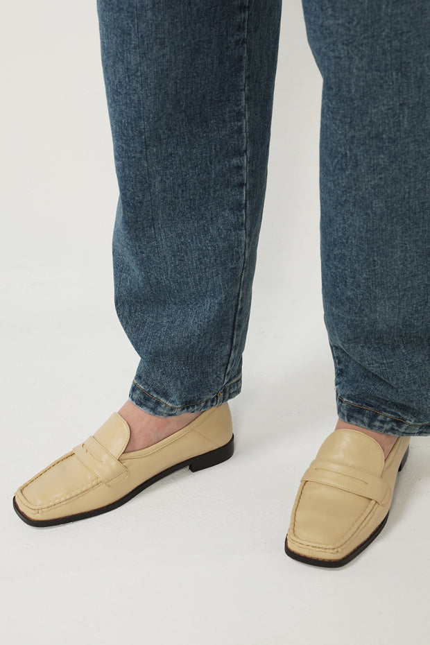storets.com Low Heel Pleather Loafers